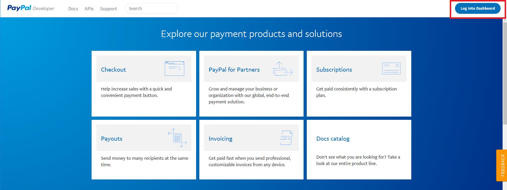 Configuring Paypal - Vebto